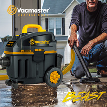 Vacmaster BEAST Vacuum Cleaner, Construction Vacuum Cleaner, Automatic Cord Winding, Wet and Dry Vacuums, Car Vacuum Cleaner