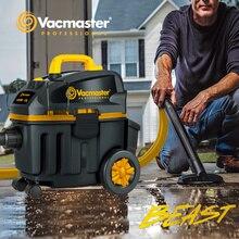 Vacmaster BEAST aspirador, aspirador de construcción, bobinado de cable automático, aspiradoras húmedas y secas, aspiradora de coche
