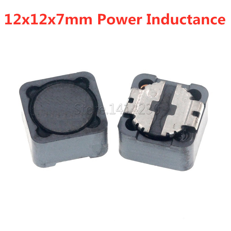 12*12*7mm Power Inductance CD127R CD127 Shielded inductor SMD Inductor 2.2/3.3/4.7/6.8/10/15/22/33/47/68/100/150/220/330-680UH image