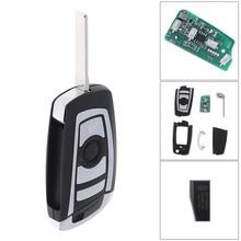 433MHz 4 Buttons Car Keyless Remote Key Fob ID44 / PCF7935 Chip HU92 Fit for BMW EWS 325 330 318 525 530 540 E38 E39 E46 M5 X3