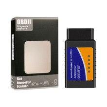 • ELM327 OBD2 V1.5 Bluetooth Car Elm 327 OBD 16 Pin lettori di codice strumento diagnostico ODBII Automotive Android