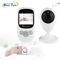Mãe Crianças Segurança Do Bebê Monitores de Dormir Infantil 2.4 GHz Babá Babá Display Digital da Segurança Do Bebê de Visão Noturna Sem Fio