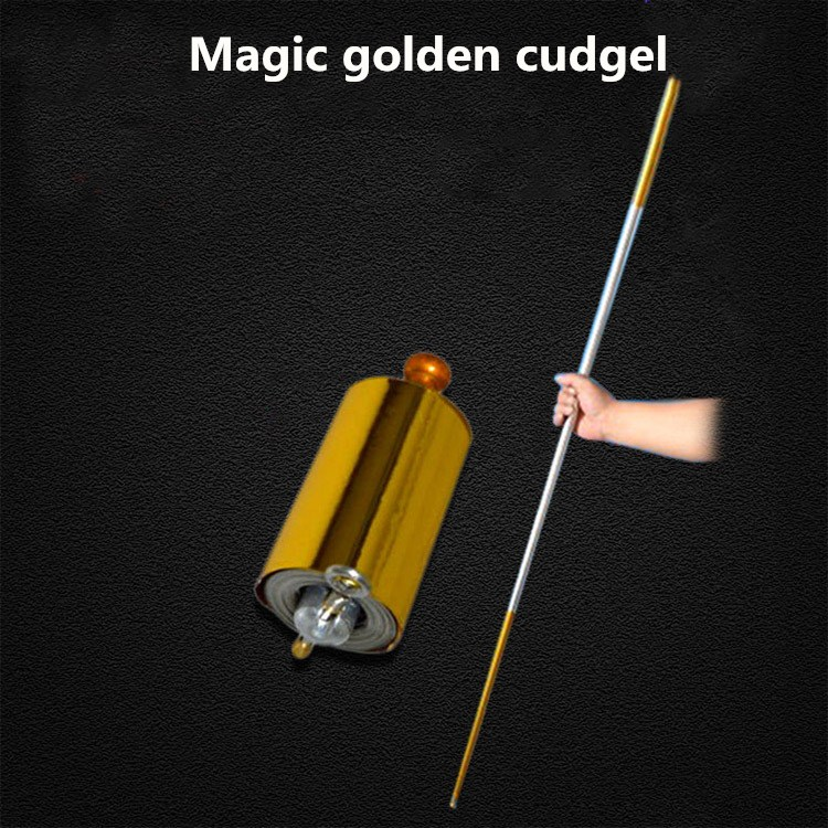 Dragon Ball Son-Goku Elastic Force Golden Cudgel Funny Gadgets 1.1m And 1.5m  Magic Toys