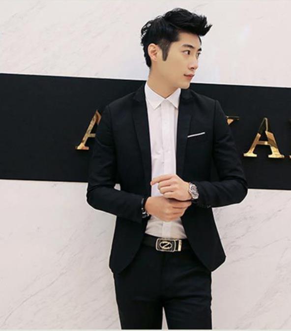 2019 Wedding Suits Jacket Formal Dress Mens Suit Set Men Casual Wedding Suits Groom Korean Slim Fit Custom-made Suits