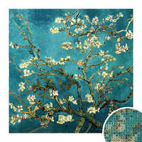 Full Diamond Embroidery World Famous Almond Blossom By Van Gogh Diy Diamond Painting A Craft Decorated Living Room Good Gift NMX