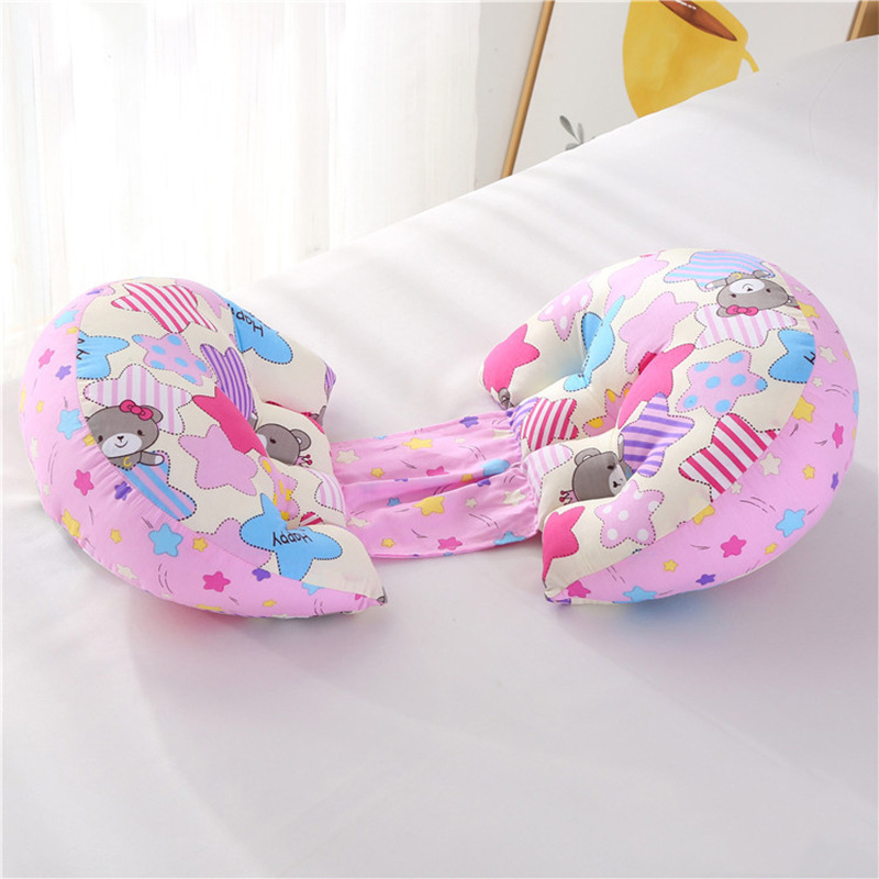 1 шт. ортопедическая поясничная подушка для бокового сна для беременных женщин специальная подушка для сна забота о материнстве Защита позвоночника поясная подушка - Цвет: Star bear