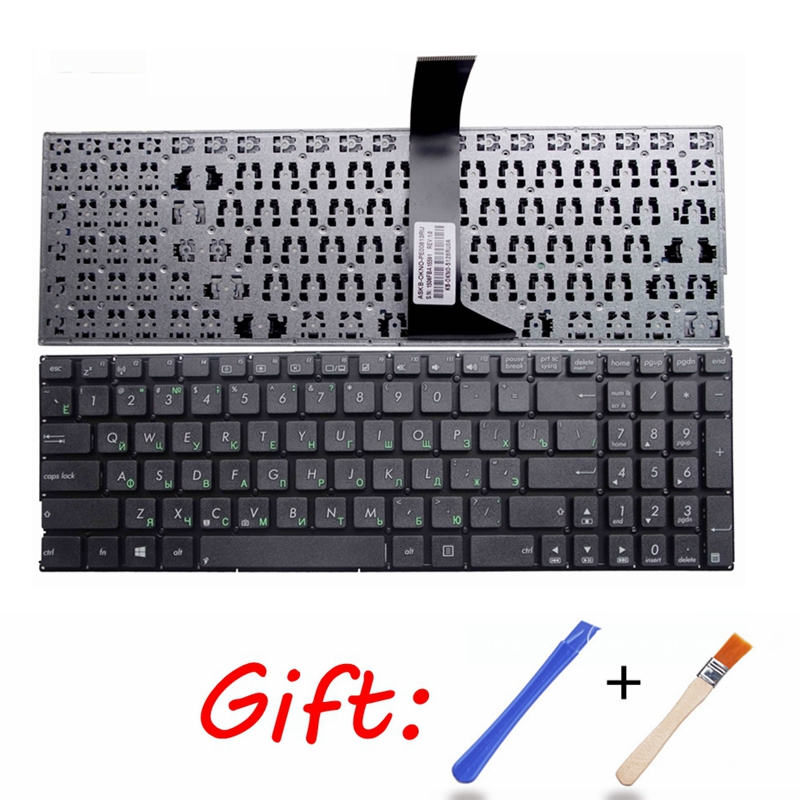 Russian Laptop Keyboard For Asus X501 X550C A550C A550VB Y581C X550 X552MJ X552E X552EA X552EP X552L X552LA X552LD X552M Black