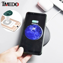 10W Fast Best Wireless Charger Pad for xiaomi 9T 8 Samsung A50 A70 Smart Wireless Charging Coil Receiver for iphone 5s 6plus 7 6 цена и фото