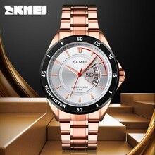 Quartz Watch Fashion Brand SKMEI Wrist Watch Luxury Stainles