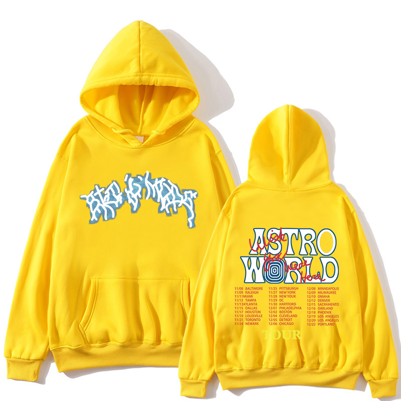 2020 new brand TRAVIS SCOTT ASTROWORLD hope you are here HOODIES fashion letters ASTROWORLD HOODIE printed casual men's hoodie