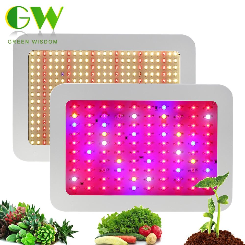 Светодиодный Grow светильник полный спектр 410-730nm 1000W 1200W Фито для роста растений в помещении Phytolamp для красивыми растениями цветком овощей пар...