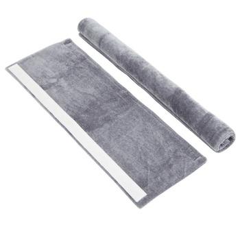 Drzwi lodówki osłona klamki urządzenie kuchenne Decor uchwyty przeciwpoślizgowe rękawice ochronne do lodówki piekarnik trzymaj odciski palców L tanie i dobre opinie door handle cover Plush