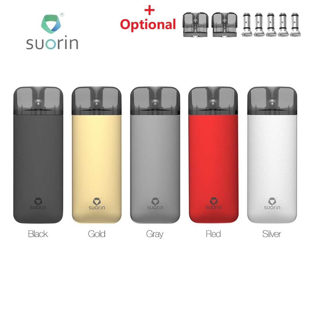 Newest <font><b>Suorin</b></font> Reno <font><b>Pod</b></font> Vape Kit with 800mAh Battery & 3ml <font><b>Suorin</b></font> Reno <font><b>Pod</b></font> Cartridge <font><b>Pod</b></font> System VS Vinci <font><b>Air</b></font> / <font><b>Suorin</b></font> <font><b>Air</b></font> <font><b>Plus</b></font> image