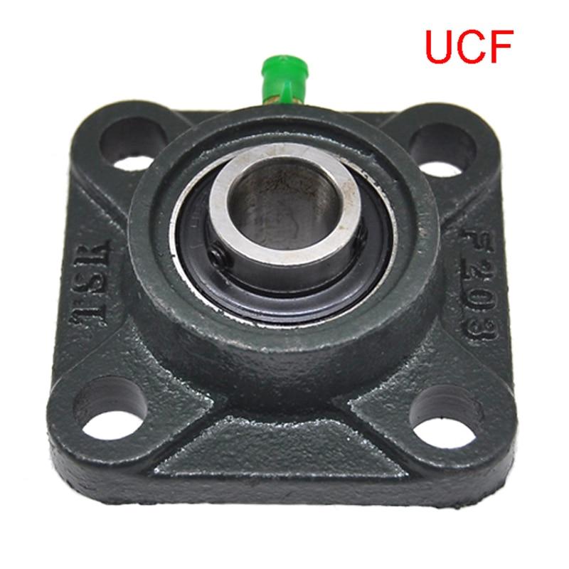 4 Bolt Square Cartridge Housed Bearings UCF201 UCF202 203 204 205 206 207