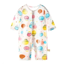 Baby Rompers Childrens' Spring Summer Clothing Cartoon Kids One-pieces Bodysuit 583E