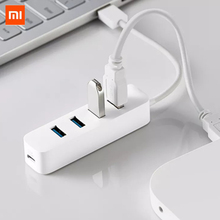 Xiaomi 4 Ports USB3.0 Hub with Stand by Power Supply Interface USB Hub Extender Extension Connector Adapter For Tablet Computer