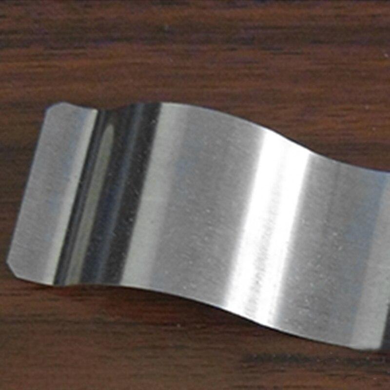 En Acier inoxydable Métrique Ondulés Parallèles Fer Accessoires De Machine-Outil pour le Réglage - 3