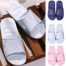 Женские сандалии-ползунки; летняя домашняя обувь для ванной; простая жесткая обувь