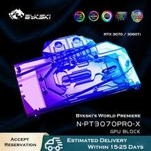 Water-Cooling-Block Graphic-Card Vga Cooler Bykski Rtx 3070 3060ti Palit Gaming-Pro GPU
