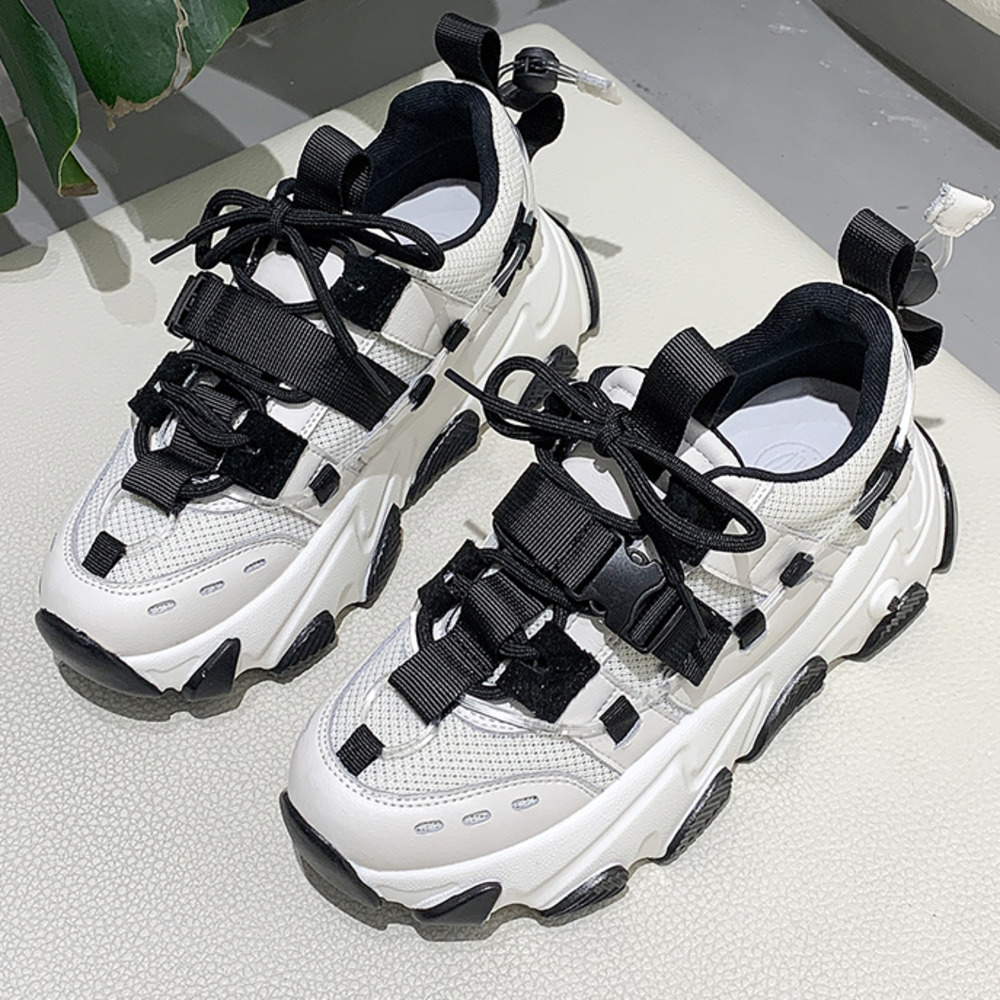 Chunky Sneakers Women Casual Shoes Fashion Woman Platform Sneakers 2020 Spring Summer Female Sneakers