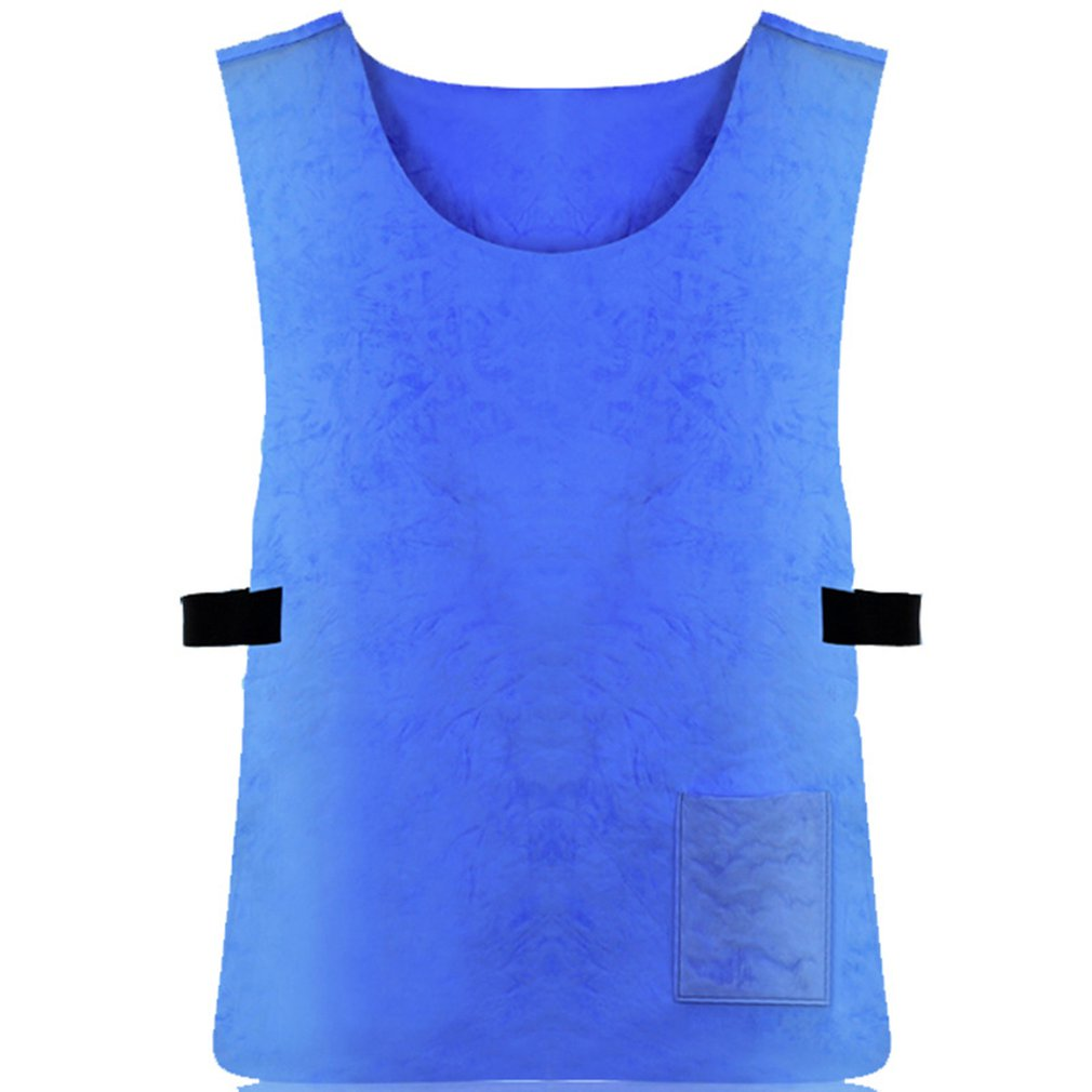 Summer Cooling Vest Heat Dissipation PVA Waterproof Fabric Vest High Temperature Protective  Outdoor    Sports Work Vests Hot