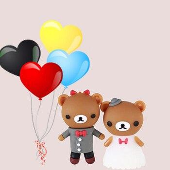 USB 3.0 Pen Drive 64GB USB Flash Drive 128GB 1TB 2TB Pendrives Usb Memory Stick 32GB 16GB 8GB 3D Cartoon Creative Wedding Gift