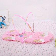 Большой Портативный Складная москитная сетка детская противомоскитная сетка с подушкой очистке, безопасный