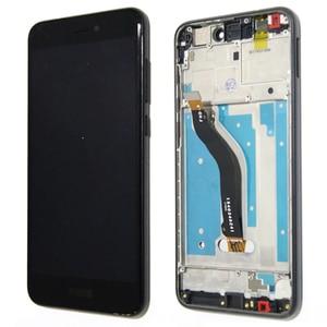 Image 3 - 100% oryginalny 5.2 wyświetlacz z ramą dla Huawei P8 Lite 2017 LCD z ekranem dotykowym Digitizer zgromadzenie PRA LA1 PRA LX1 naprawa części