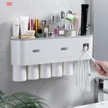 Креативная стойка для зубных щеток Бесплатная Пробивка чашка