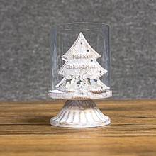 Nordic Retro Style Candlestick Wrought Iron Hollow Adornos De Navidad Candle Holders 2019 Christmas Decoration