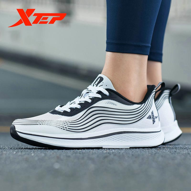 Xtep Ultra-light Men Running Shoes New Comfortable Running Shoes Lightweight Sneakers 981219110303