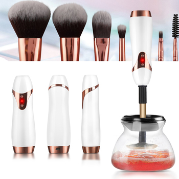 Electric Wash Makeup Brush Dryer Cleaner Device 10 Seconds Convenient Make up Brushes Washing Cleanser Cleaning Machine Tool 5