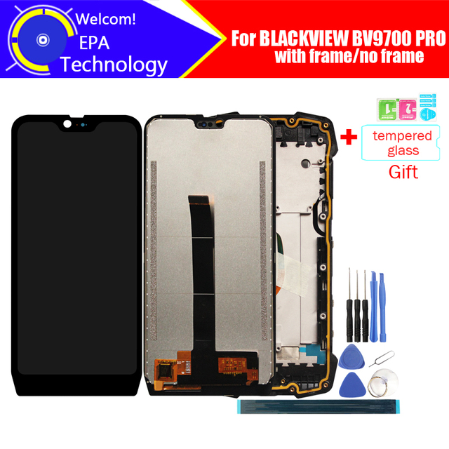 5.84 inch BLACKVIEW BV9700 PRO LCD Display+Touch Screen Digitizer Assembly 100% Original LCD+Touch Digitizer for BV9700 PRO