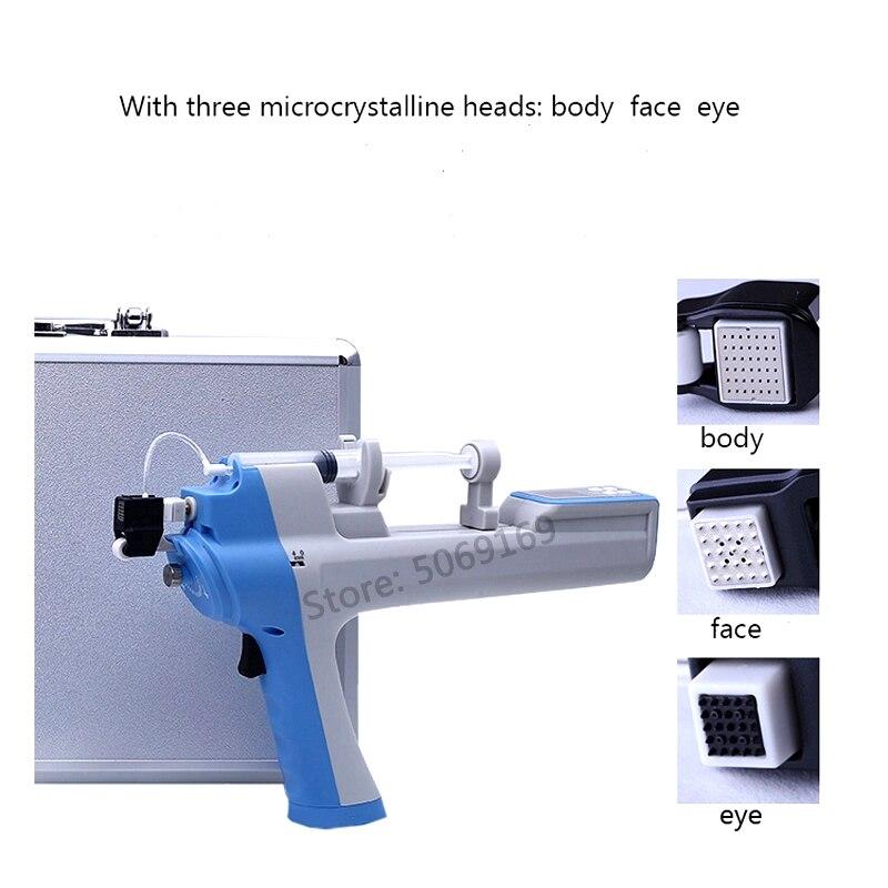 Handheld Keine-Nadel Mesotherapie Injection Pistolen Vanadium Titan Nano Gerät Für Gesichts Bleaching Falten Entfernen Schönheit Maschine