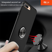 Original for xiaomi 9 case Luxury Magic Ring Case For mi 8 8se 8pro 8lite 6 6x max3 Car bracket ring magnetic function.