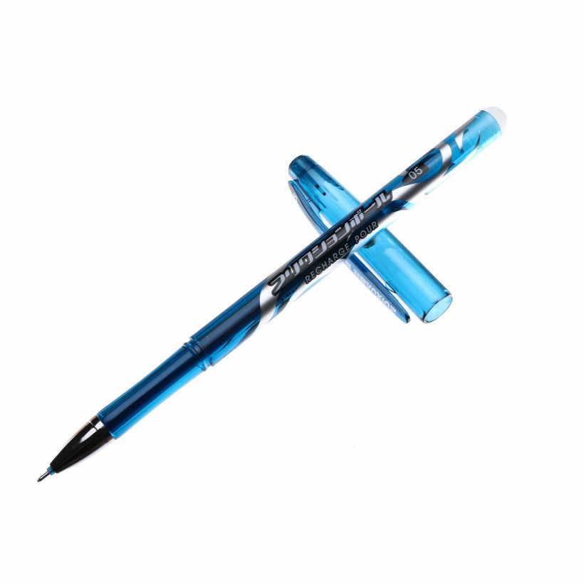 1 個ブライトレッド消去可能なペイントブラシ水彩ゲルインク用学習 Diy 画アートペイントブラシ用品