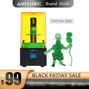 Image 1 - Anycubic 2020新フォトンゼロ3Dプリンタsla液晶プリンタクイックスライスuv樹脂プラスサイズimpresora 3d drucker impressora
