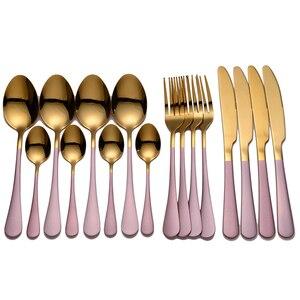 Vajilla, juego de vajilla, cubiertos de cocina, 16 uds, tenedores, cuchillos, cucharas, cubiertos, vajilla, cuchara, juego de cubiertos, tenedor, cuchara, cuchillo