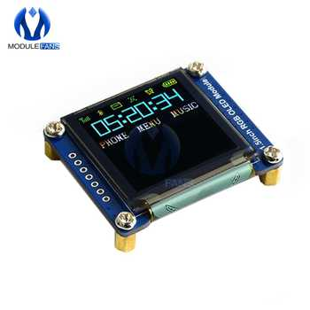 """1.5inch 1.5\"""" RGB OLED Screen Display Module 128X128 SSD1351 SPI I2C IIC for Arduino Raspberry Pi STM32 - DISCOUNT ITEM  10 OFF Electronic Components & Supplies"""