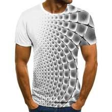 Vero oversized camiseta nova mltipla cor 3d topos & t masculino feminino menino menina crianas moda personalizada streetwear