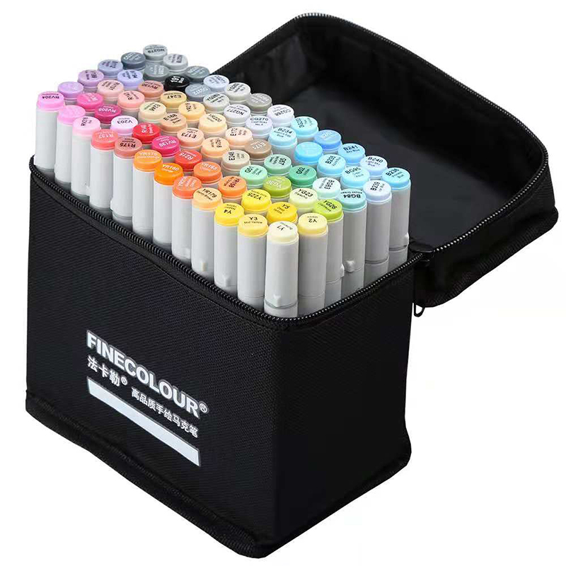 FINECOLOUR  Art Markers Sketch Marker Set  Professional Sketch Drawing Art Markers Penfor  Art Markers   Caligraphy