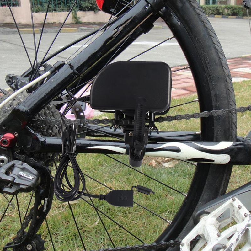 دراجة دينامو دراجة سلسلة مولد شاحن مع USB شاحن ل العالمي الذكية الهاتف الخليوي المحمول آيفون الدراجة ركوب المعدات