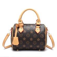 цена на Luxury ladies Boston woman's handbag high quality leather pillow bag female Messenger bag ladies shoulder bag office clutch bag