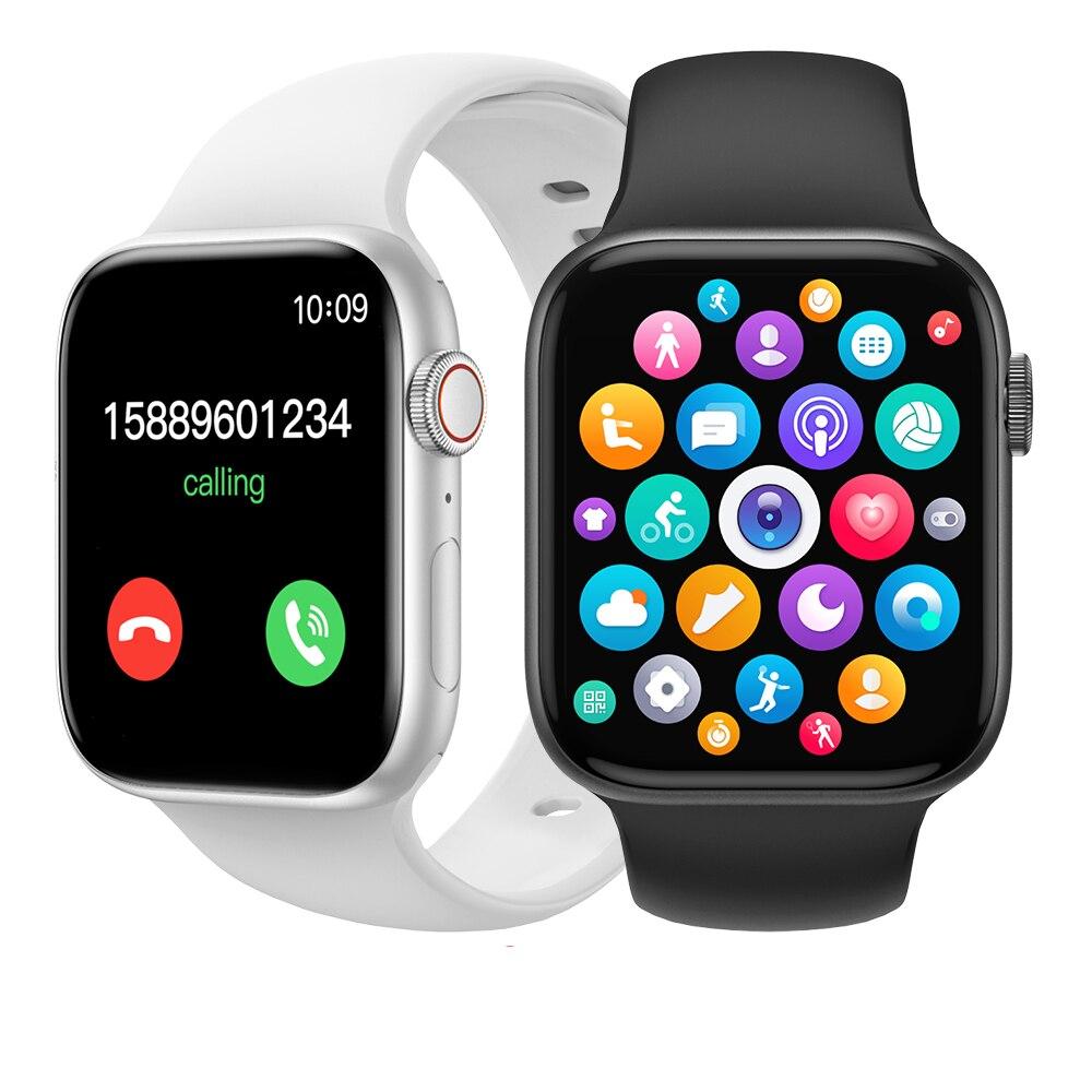 IWO W56 Smartwatch 2021 IWO W46 умные часы для мужчин женщин вызовов через Bluetooth IP67 Водонепроницаемый DIY циферблат 1,75 ЭКГ IWO 12 13 W26 серии 6