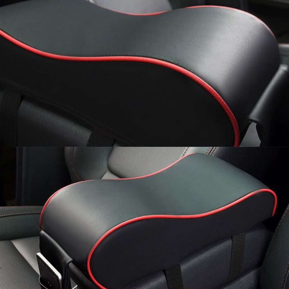Image 5 - Universal Leather Car Armrest Pad Auto Armrests Car Center Console Arm Rest Seat Box Pad Vehicle Protective Car Styling-in Armrests from Automobiles & Motorcycles