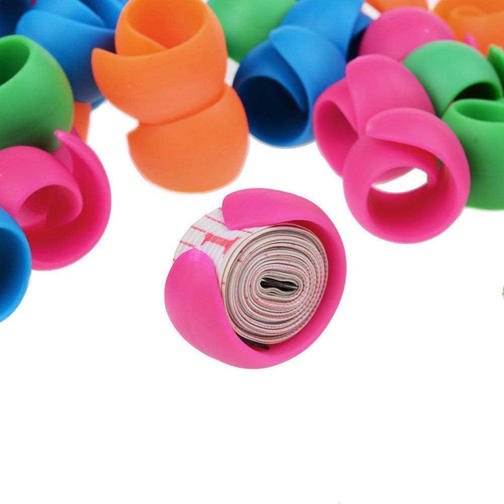 100Pcs Thread Spool Huggers Bobbin Clamps Holders Keep Thread Spools from Unwinding Peels Sewing Accessories