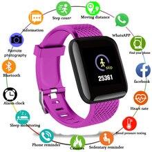 חכם שעון 2021 נשים גברים גדול מסך כושר Tracker צמיד קצב לב צג Smartwatch עבור אפל שעון Xiaomi Huawei