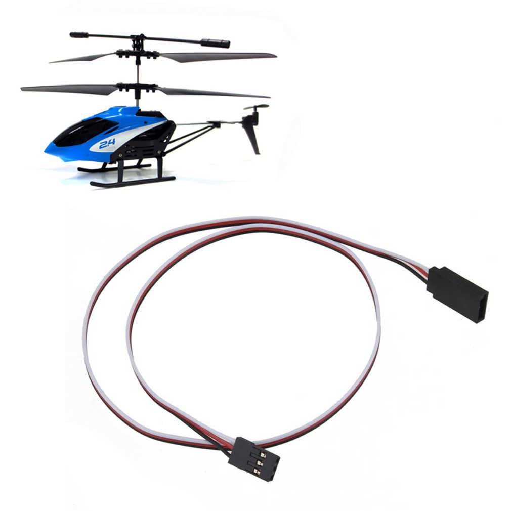 Hot! 10 pçs/lote 50cm controle RC cabo de Extensão Servo 500 milímetros Fio Condutor Cabel Para Helicóptero Avião Car etc Nova Venda