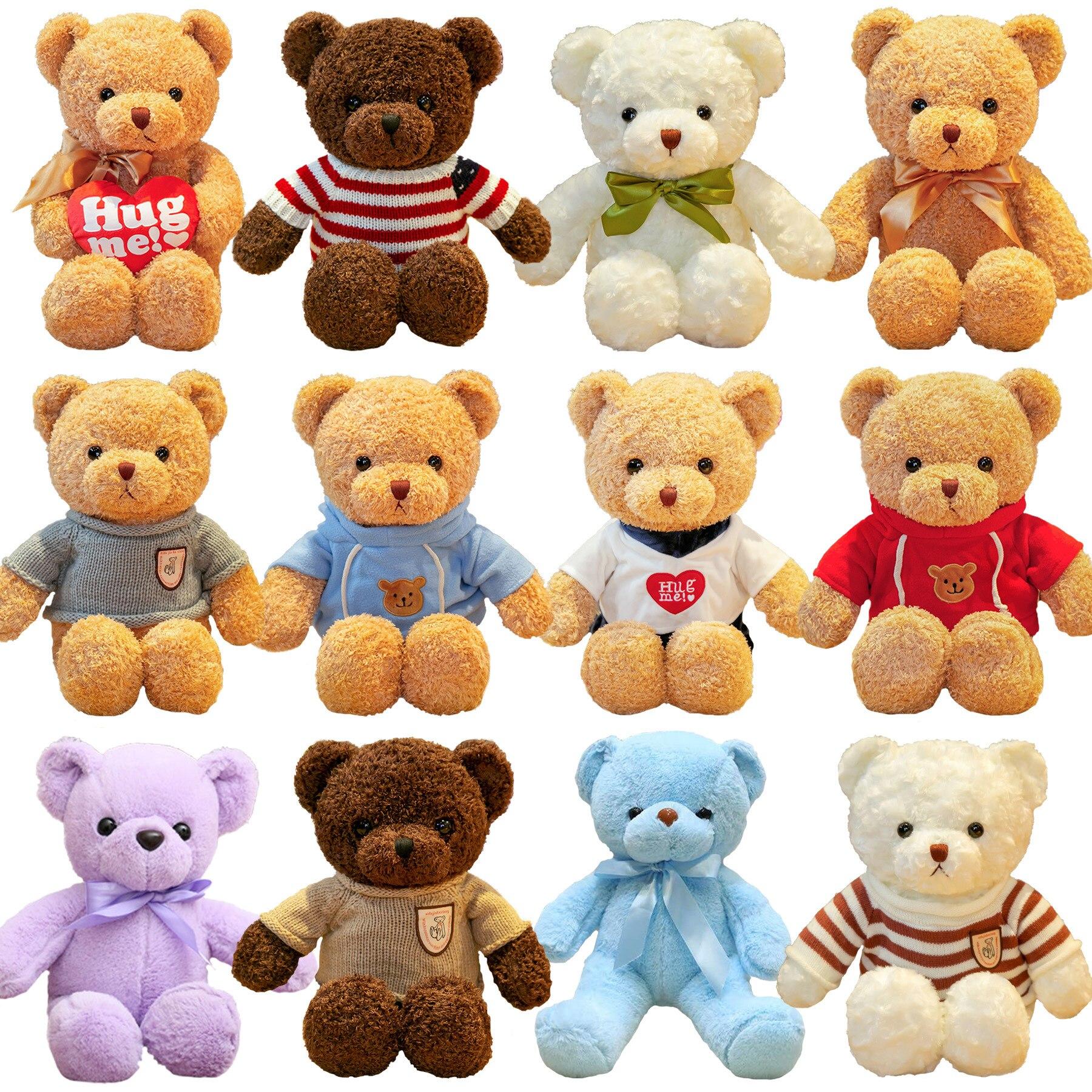 Плюшевого мишки каваи кукла аниме игрушка чучело медведя Hug большой медведь подарок, плюшевая игрушка медведь, подарок на день рождения с ин...