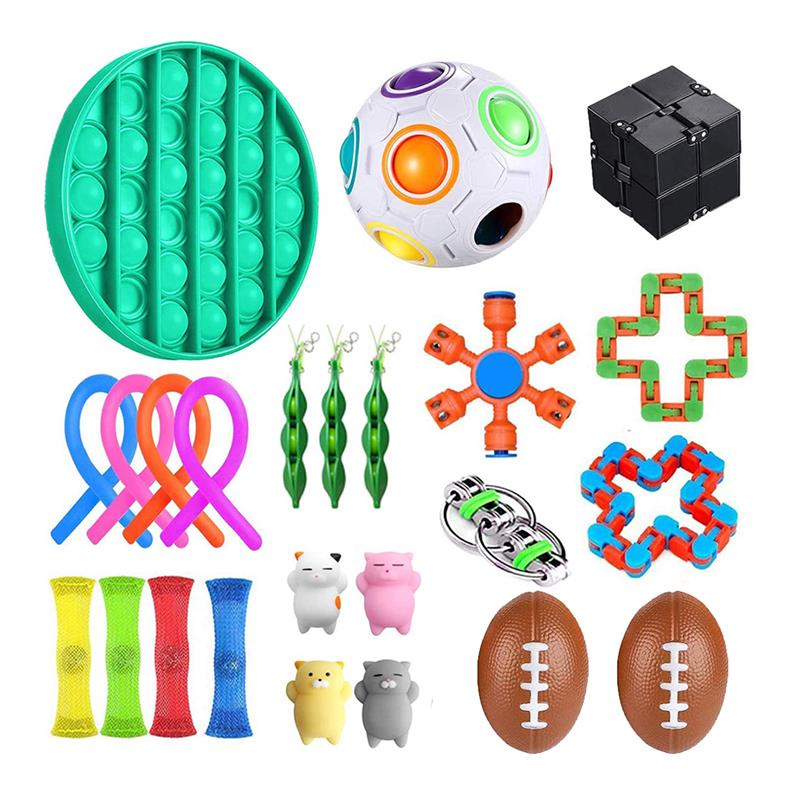 Marbles-Ball Toys Autism EDC ADHD Magic-Stress Anxiety Hand Relief-Focus Kids for Bundle-Sensory-Toy